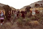 בין הדוגמנים בקמפיין של גוצ'י – כבשים, תוכים, עז, קופים, פילים ודרקונים