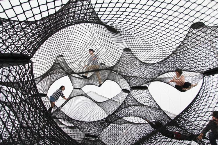 Interactive-Art-Installation-People-Play-Art-Suspended-4C