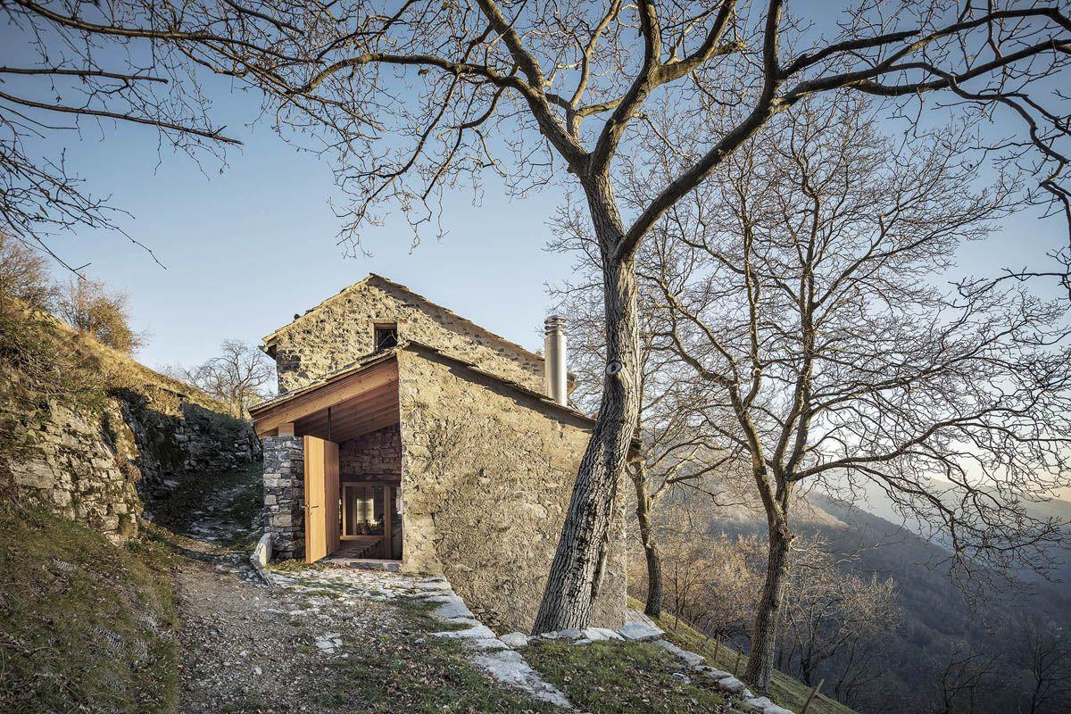 שיקום מבנים כפריים, איטליה