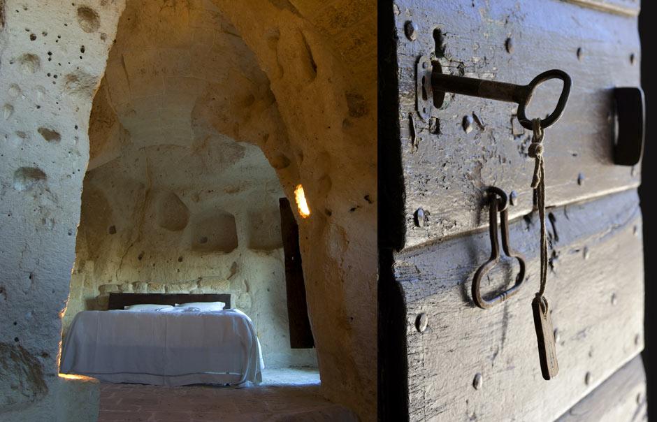 מלון במערה עתיקה באיטליה