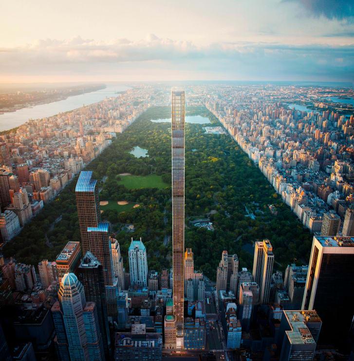 גורדי השחקים הרזים משנים את קו הרקיע של ניו יורק