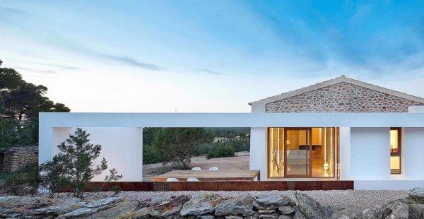בית על האי Formentera בספרד
