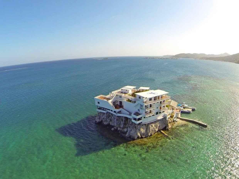 וילת נופש על אי בים