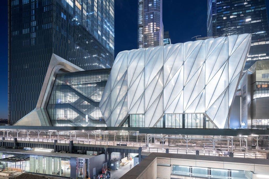 The Shed נפתח בניו-יורק, אחרי יותר מעשור