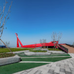 סמל תרבות בסין: Qingdao Wanda Victoria Bay Xifeng Bridge