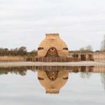 קן ענק לציפור, בשמורת טבע בהולנד