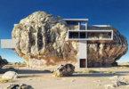 """""""הבית בסלע"""" הוא הדוגמא הטובה ביותר להשתלבות מבנה בטבע"""