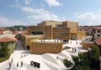 המוזיאון odunpazari שתכנן קנגו קומה נפתח בטורקיה