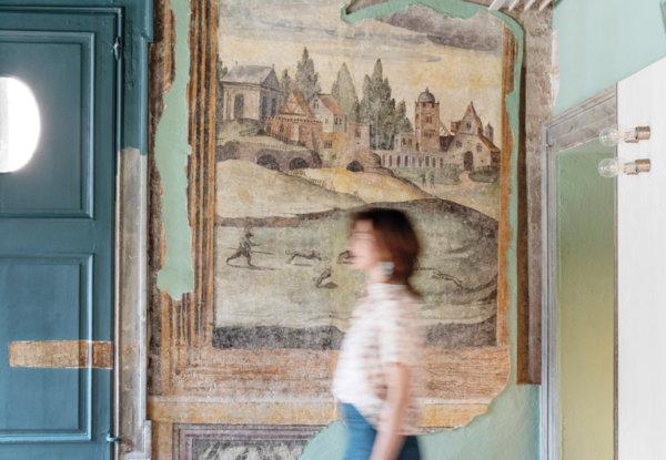 דירה קטנה והיסטורית הפכה ליעד תיירותי, באיטליה