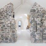 חורבה מהמאה ה -18 הפכה לבית עתידני