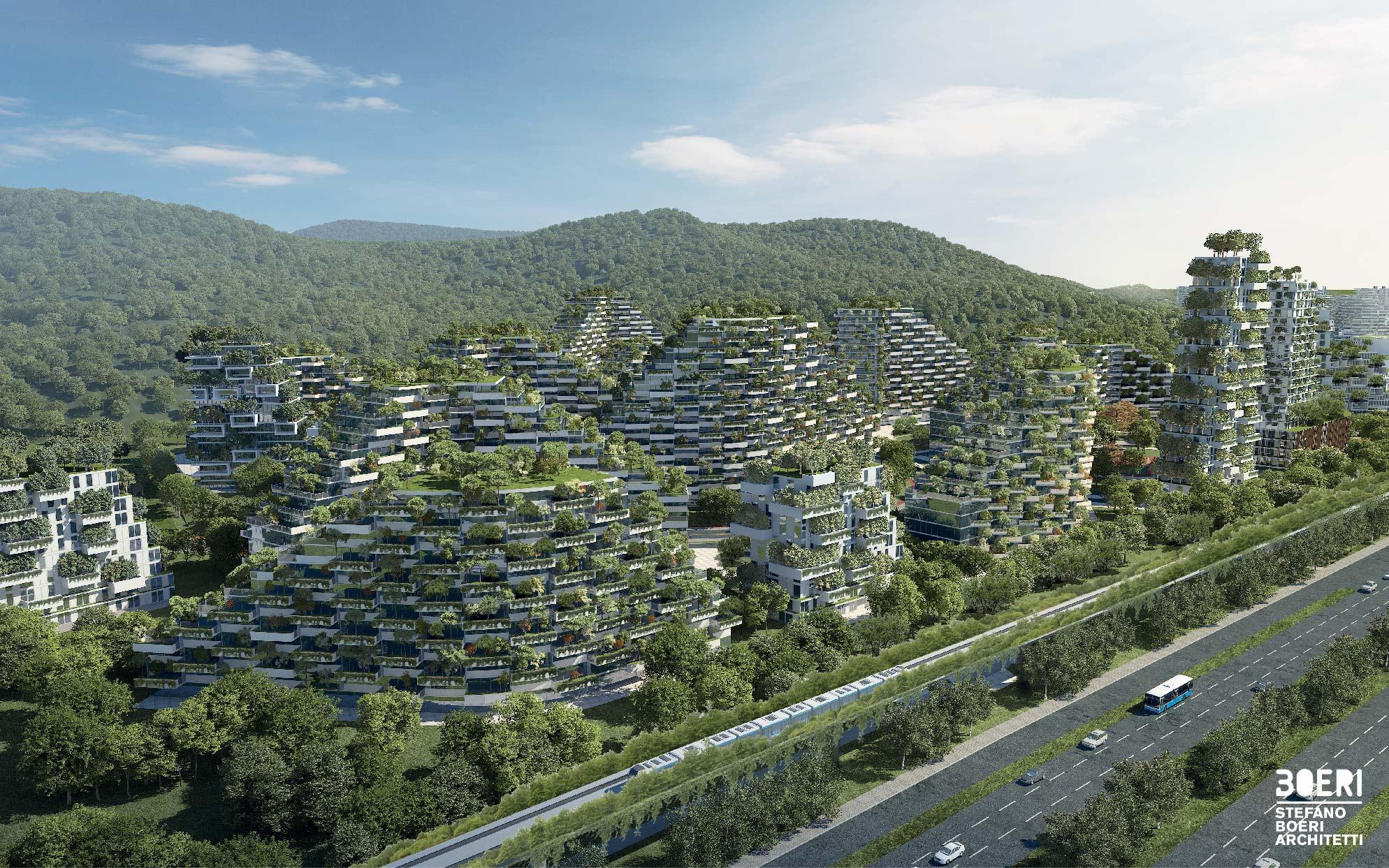 יוזמה סינית מהפכנית: עיר המשולבת ביער ירוק