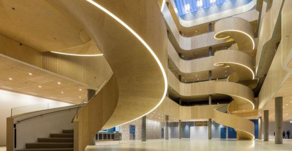 ביקור בבית חולים פסיכיאטרי חדש ועטור פרסים בדנמרק