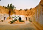 המגורים התת-קרקעיים ב- Matmata, תוניסיה