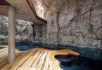 וילה החצובה בתוך סלע: יוקרה אקולוגית בלב מונקו