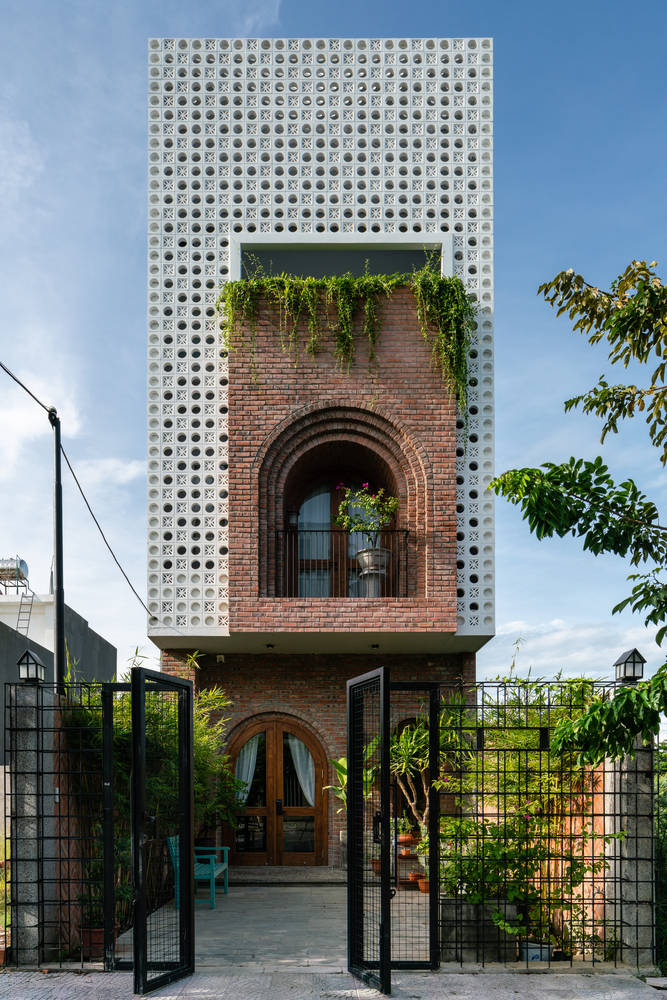בית חם ואינטימי בעיר הגדולה, ווייטנאם