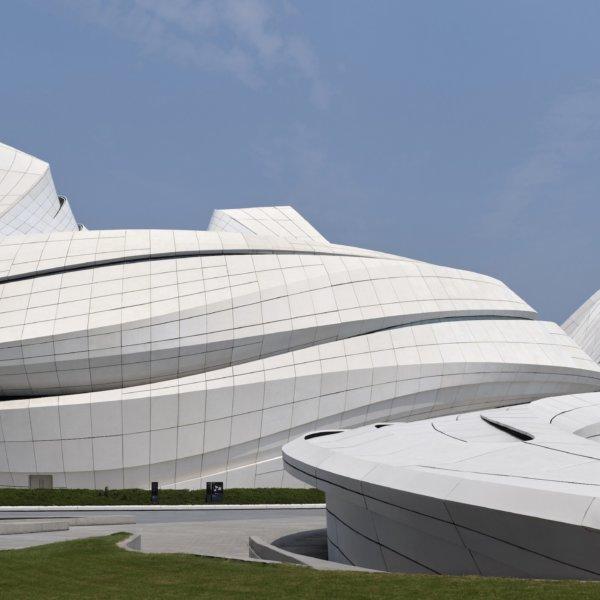 זהא חדיד אדריכלים השלימו את מרכז התרבות החדש ב-Changsha