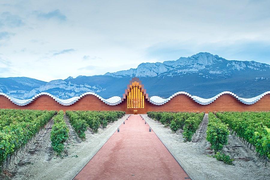יקב Bodegas Yios, ספרד, בתכנון קלטרווה