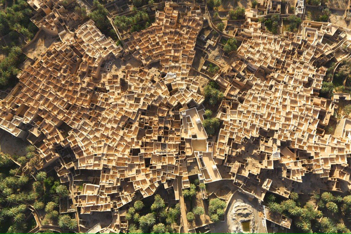 פנינת המדבר הקדומה Ghadames, בלוב