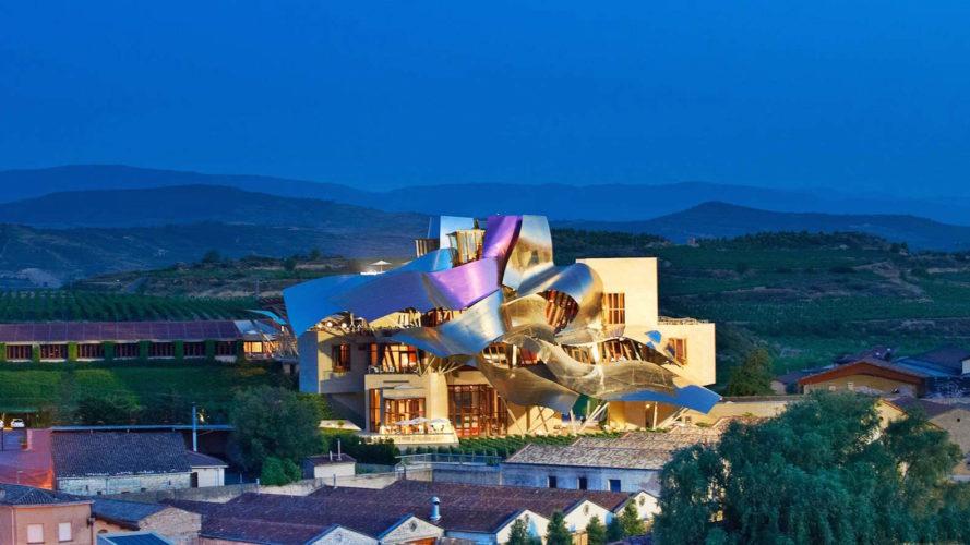 היקב והמלון Marqués de Riscal, בעיצוב פרנק גרי