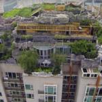 פרופסור סיני בנה לעצמו וילה, על גג בניין מגורים