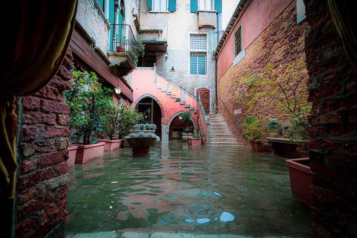 ונציה המוצפת, במצלמתה של צלמת איטלקייה