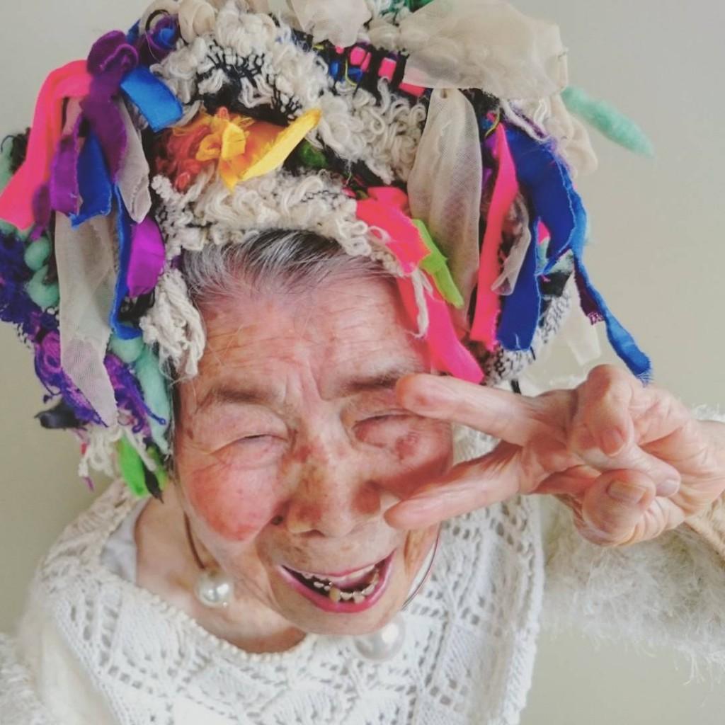 דוגמנית בת 93