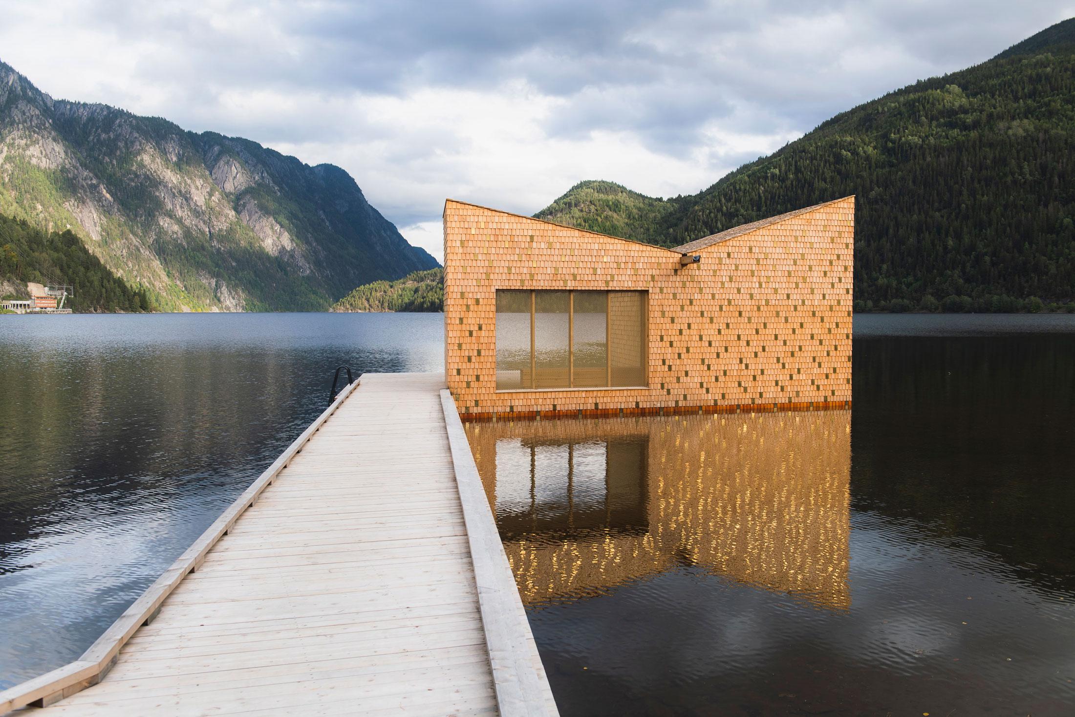 הסאונה Soria Moria Sauna, נורווגיה
