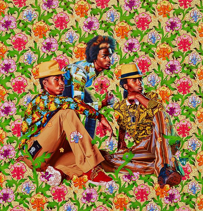 דיוקנאות שחורים הירואים של Kehinde Wiley