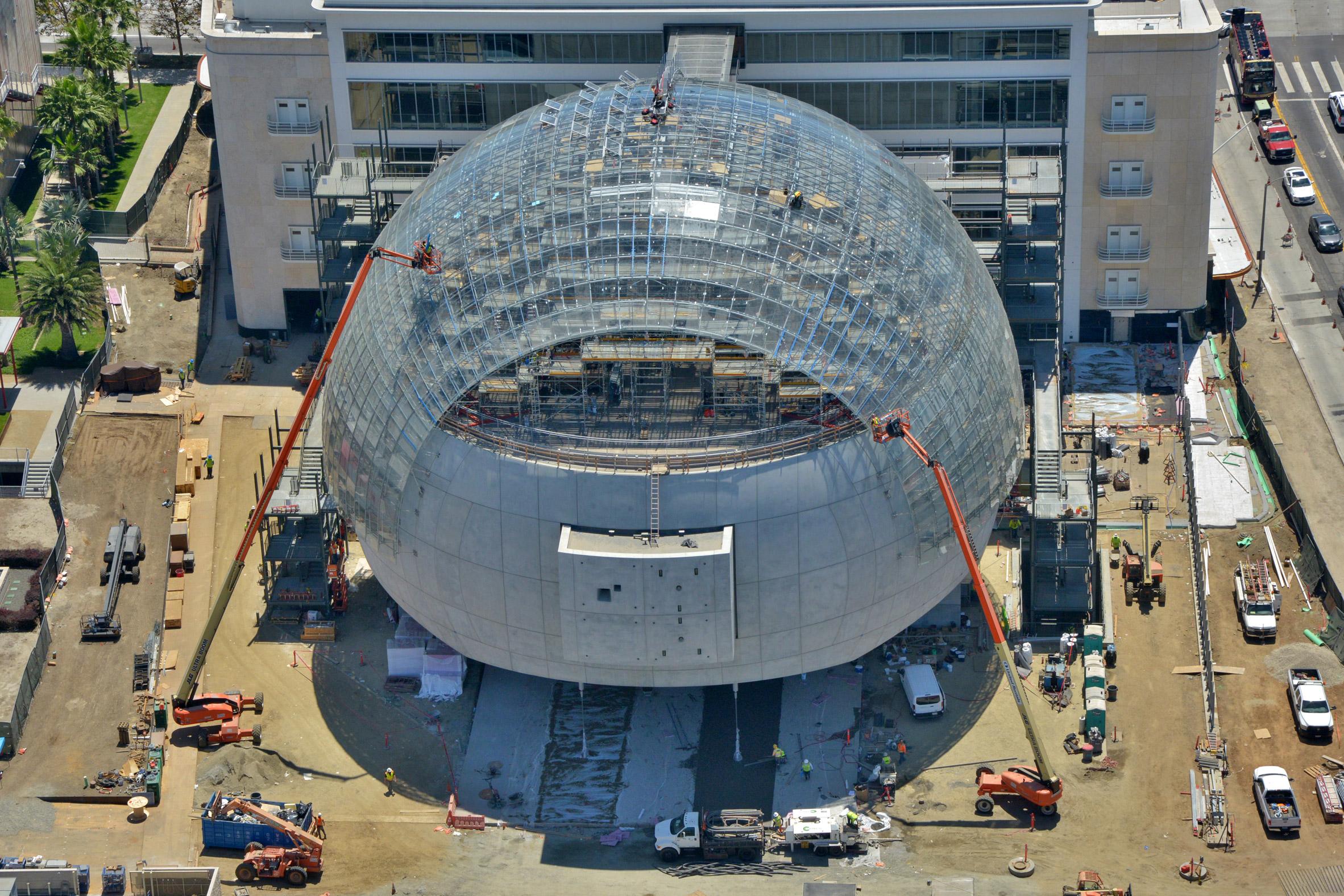 המוזיאון לקולנוע שתכנן רנצו פיאנו, יפתח בלוס אנג'לס בדצמבר