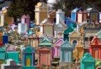 בתי הקברות הצבעוניים בגואטמלה