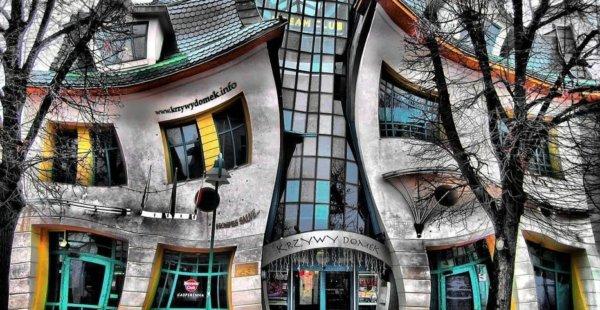 הבית הרוקד Krzywy Domek