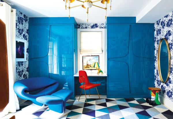 ביתו של המעצבהאקסצנטרי Jonathan Adler בניו יורק