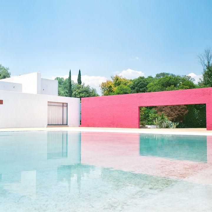 אדריכלות וצבע אצל Luis Barragán