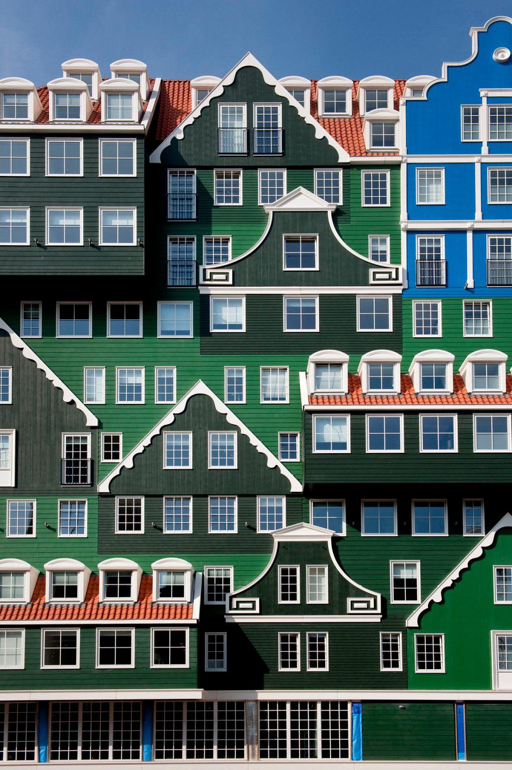 המלון הכי מוזר באמסטרדם: Inntel Zaandam