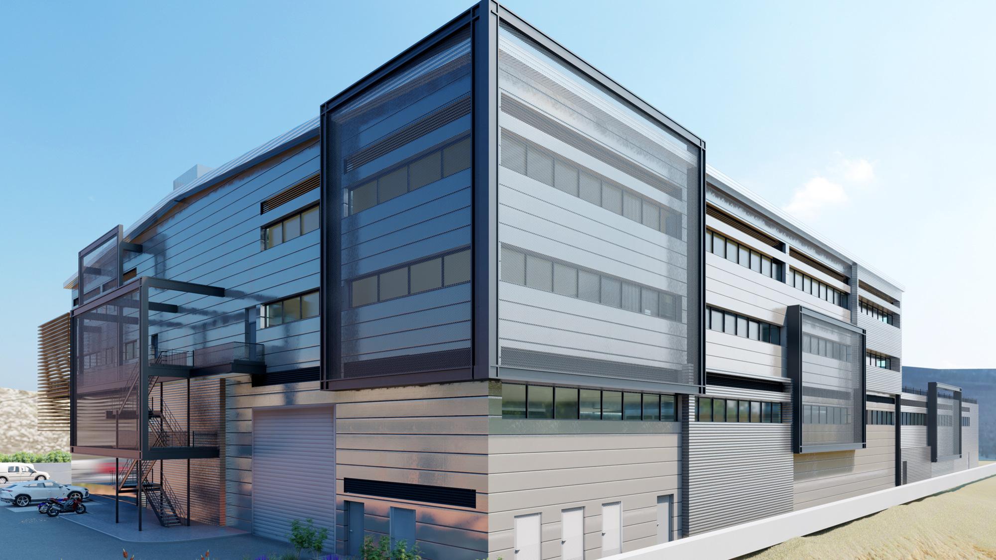 מבוא לתכנון אדריכלות מבני תעשייה