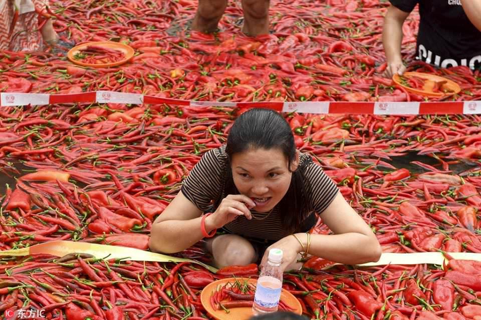 פסטיבל פלפלים חריפים בסין