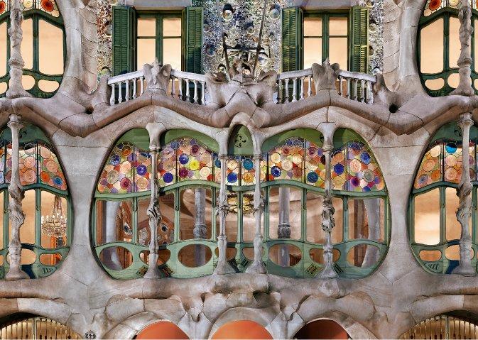 אנטוני גאודי: Colònia Güell / Casa Batlló / Casa Milà