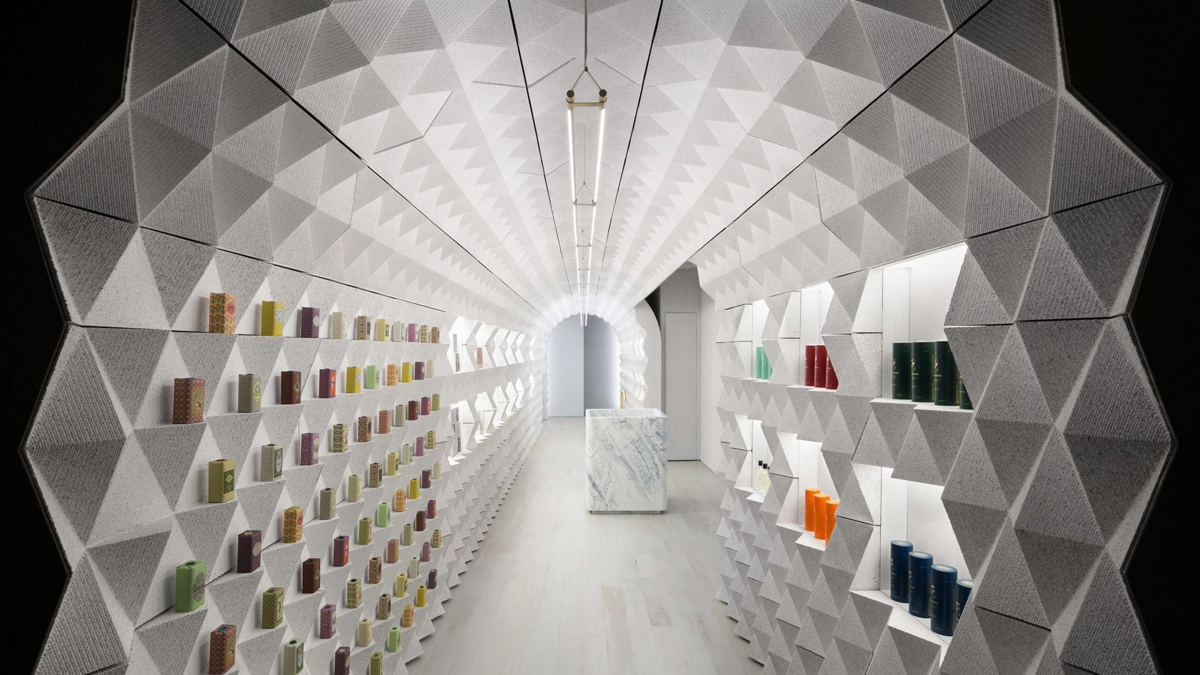 חנות המותג Claus Porto במנהטן