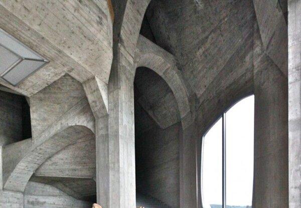 אייקונים: The Goetheanum של רודולף שטיינר