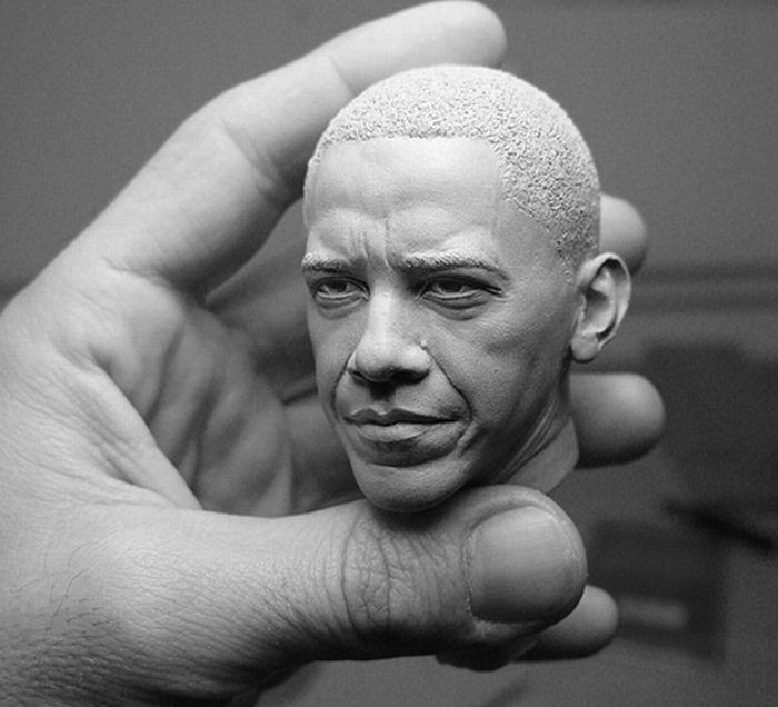 הפסלים ההיפר ראליסטיים של Adam Beane