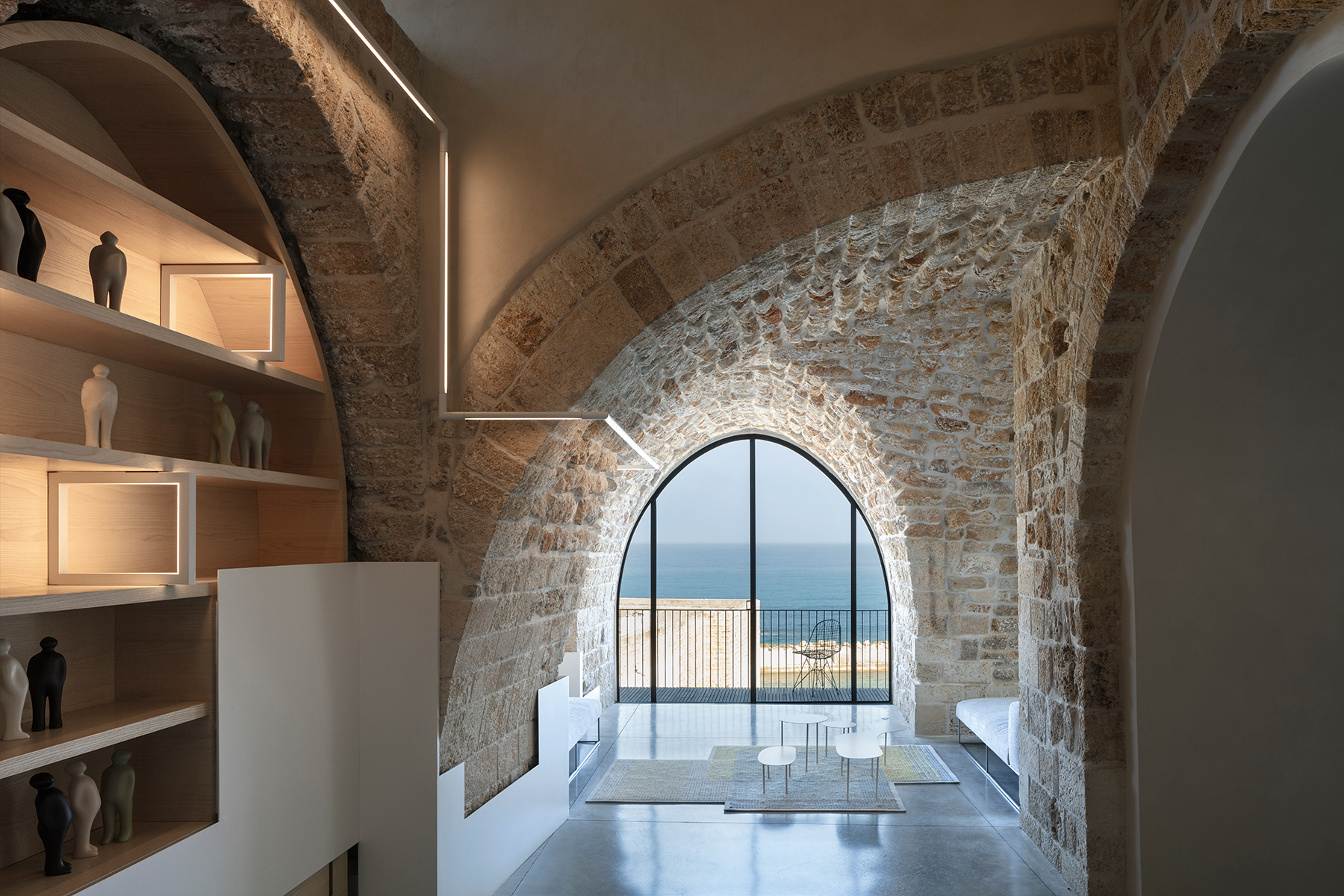 מפגש בין אדריכלות עות'מנית לעכשווית, ביפו / פיצו קדם