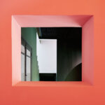בית צבעוני של מעצב בברצלונה