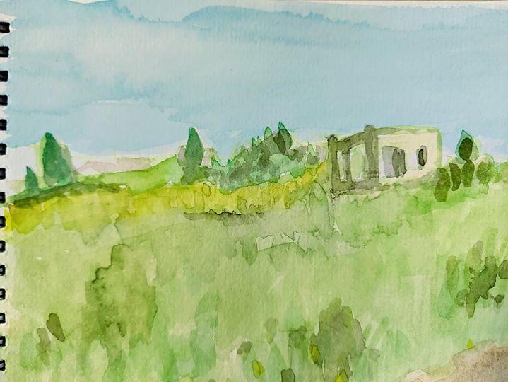 ציונה לוז אוריין מציירת את הגעגועים שלנו, בני הארץ