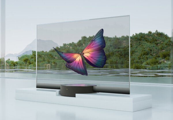 לראשונה בעולם: Xiaomi משיקה טלוויזיה שקופה בייצור המוני