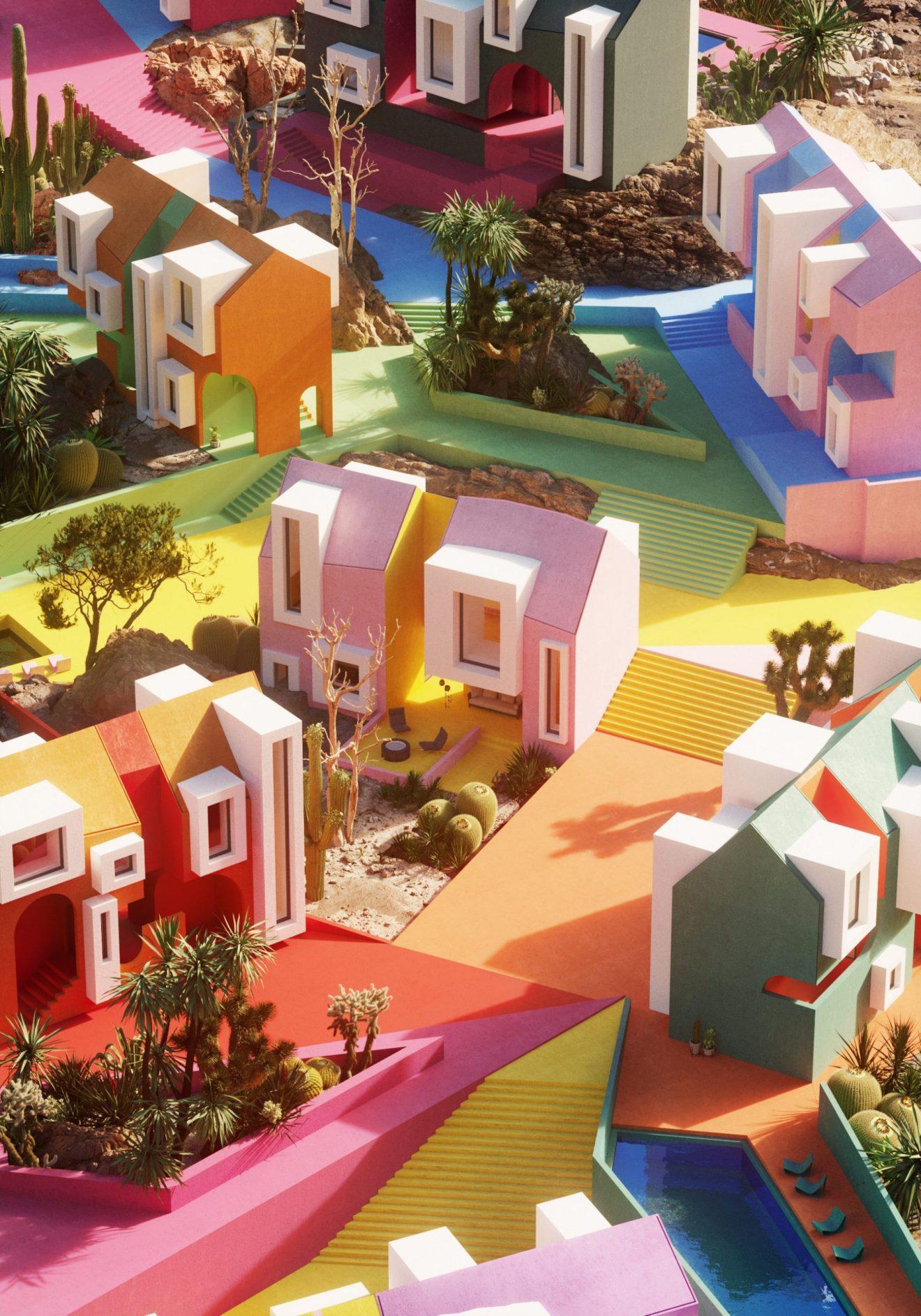 אסקפיזם בכפר האמנות Sonora Art Village