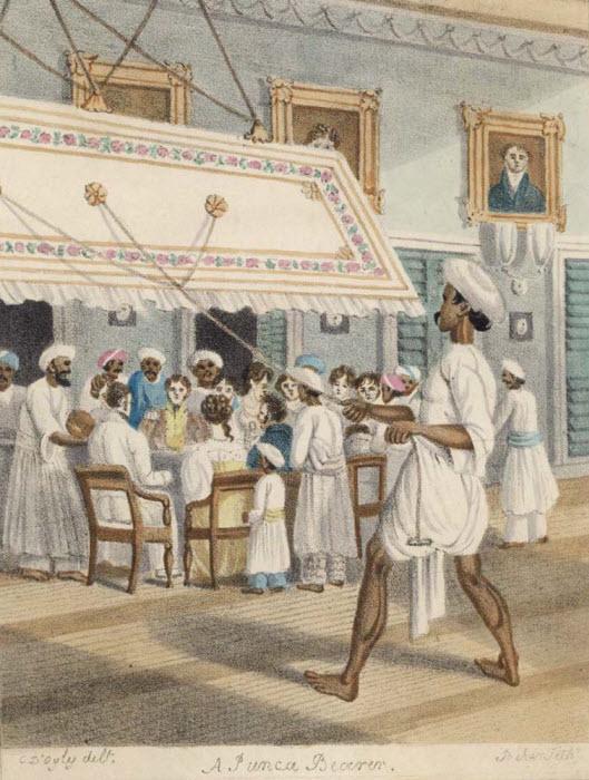 כשבהודו הקולוניאלית השתמשו במאוורריי תקרה ידניים: Punkah