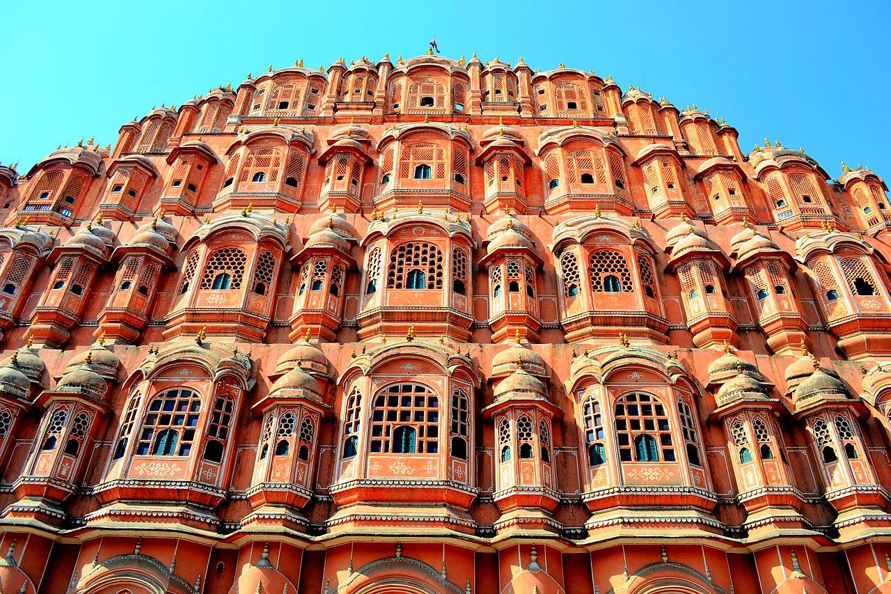 ארמון Hawa Mahal בהודו