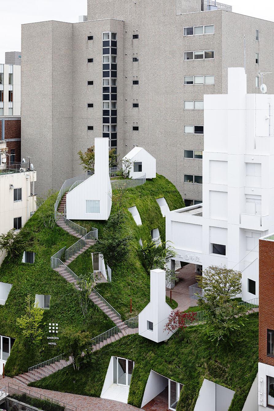 מלון Shiroiya Hotel בתכנון Sou Fujimoto