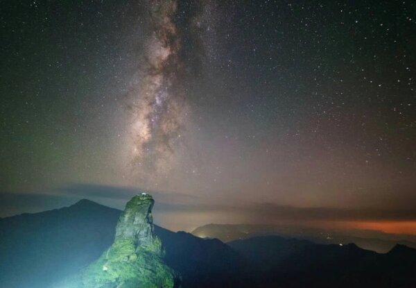ההר Fanjing Mountain בסין