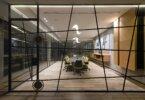 שקיפויות וקריאטיביות בעיצוב משרד חברת יצוא וייצור